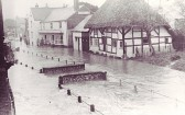 Severe flooding in East Meon in the 1950s, picture gallery