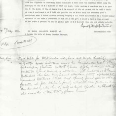 page 2, in which it is recorded that Muriel Merrett is a minor, under the guardianship of Thomas Hall, who is responsible for revenues from property &c will pass to Miss Merrett.