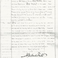 Page 2 of 1922 Grant of Copy, mentioning Ancient Order or Friendly Society