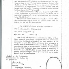 Agreement p3, Commissioners Seal