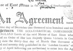 Tudor House 1935 Agreement