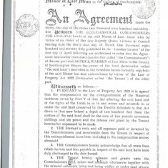 Agreement page 1