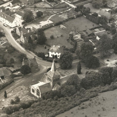 All Saints Church from Park Hill, 1930s?