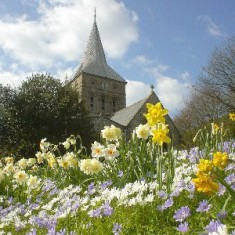 Spring view of All Saints, photographed by Richard Gaisford | Richard Gaisford