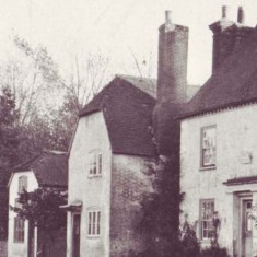 Old Bell Cottage, on the left, housed Edward A. Banhams, Saddler. It is said that villagers, who only possessed one pair of shoes, would bring these for mending. While waiting, they drank beer at an ale house at the same address