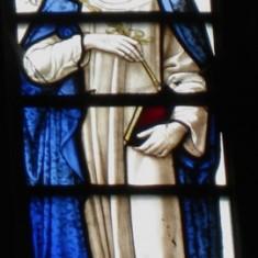 St Catherine of Siena, representing Italy.