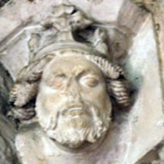 Corbel of king, possibly Richard II.