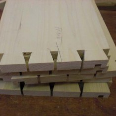Front drawer dovetails