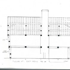 Elevation of house from north
