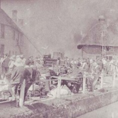 In 1910, a fire destroyed all the buildings in the High Street to the east of Potter's Warehouse.