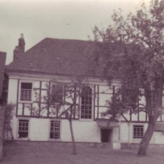 A view of the north side of Glenthorne House, which is less elaborate than the street front, probably because it was not 'on show'.