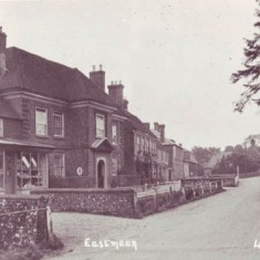 Jane Earwaker, born in 1749, was the first to keep a grocer's shop at Glenthorne House, in an extension known as the Gatehouse. She was the first known postmistress in East Meon. In the 1840s, John Nathaniel Atkins continued the post office and also offered a  grocery and a coal delivery business.
