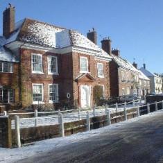 Glenthorne in snow, 2010