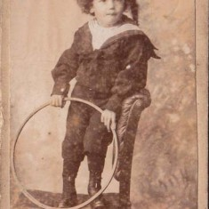 John's father as a child