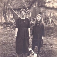 John's mum Dorothy and Margery Whitear