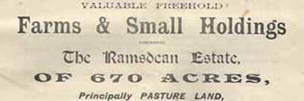 Letterbox Ramsdean and Eastmeon sales catalogue frontispiece