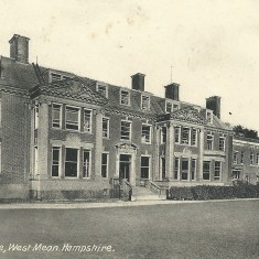 Westbury House from the north-east.