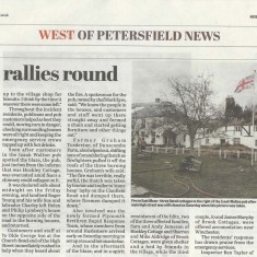 'West of Petersfield' page of the same edition