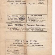 Parochial Magazine, July 1927, advertisements
