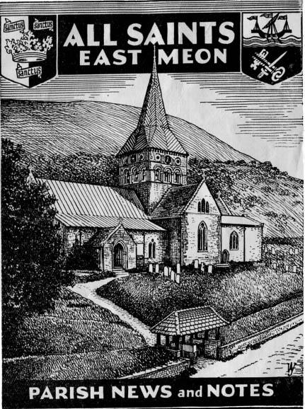 Cover of Parish Magazine, October 1953
