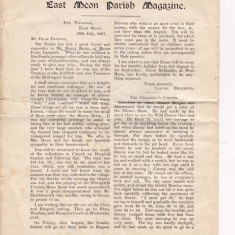 Parochial Magazine, July 1927, page 1