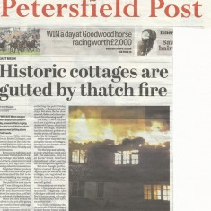 Petersfield Post front page