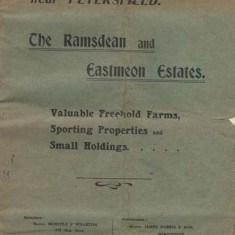 The cover of the sales catalogue