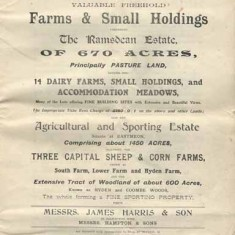 Ramsdean and Eastmeon sales catalogue frontispiece