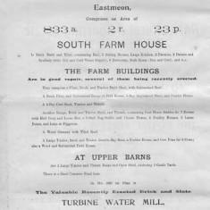 South Farm and Lower Farm, inc mill