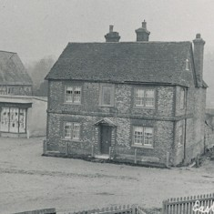 The Square, with Warren's shop on the left