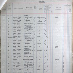 Passenger List, Herman and Kathleen Le Roy Lewis, West Indies, 1929