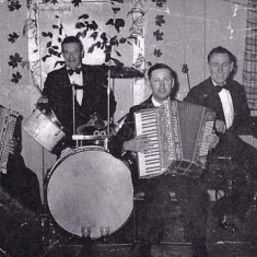 Band, Late 1950s, William Blackman, Frank Munday, Cecil Cross, Fred Handford