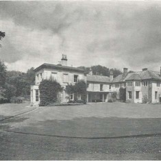 Bereleigh House, south side,