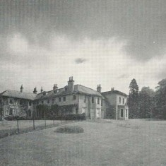 Bereleigh House from garden 1958