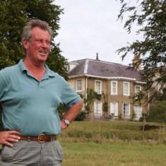 Bill Tyrwhitt-Drake, the present owner of Bereleigh.