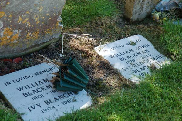 Blackman gravestones
