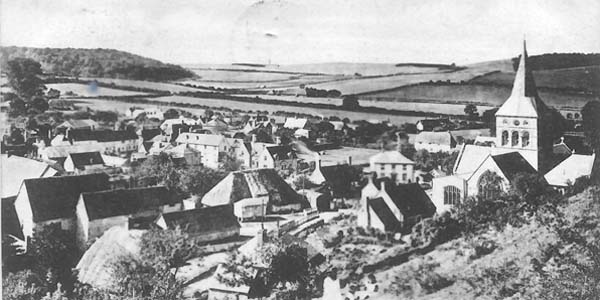 Church and village 1900s