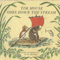 Cover of 'Tim Mouse goes down the Stream.' 1970.