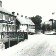 New inn, Francis Frith Collection, 1955