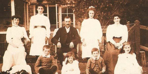 George Atkinson senior and family