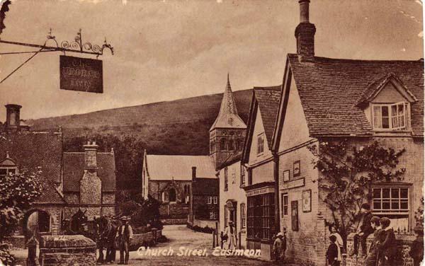 Church Street: George Inn, All Saints & Post Office