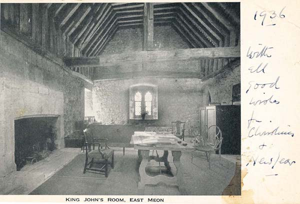 King John's Room at The Court House
