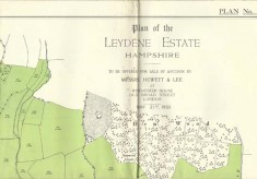 Leydene Estate Sale 1953