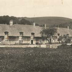 Paupers and Kews Cottages, 1920s, post card by Frank Newell of Alresford