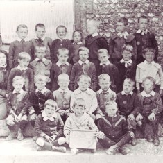 Schoolboys c 1900