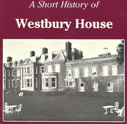 A Short History of Westbury House, cover copy