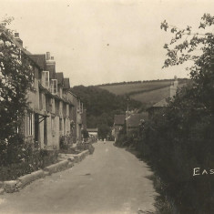 The Cross, 1920s, post card by Frank Newell of Alresford