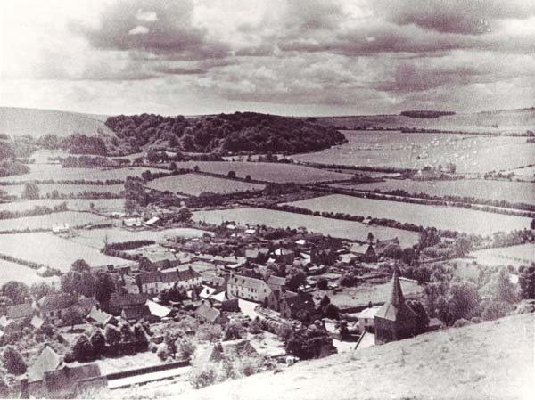 View from Park Hill, early 20th century.