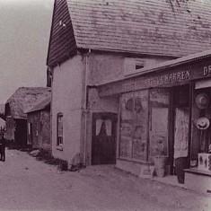 Warren's shop at Tudor House