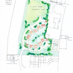 First plan for housing submitted by HGP planning.